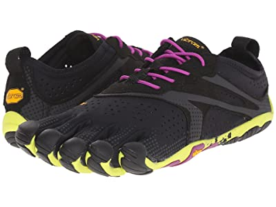 Vibram FiveFingers V-Run (Black/Yellow/Purple) Women