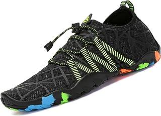 comprar comparacion Zapatos de Agua para Buceo Snorkel Surf Piscina Playa Vela Mar Río Aqua Cycling Deportes Acuáticos Calzado de Natación Esc...