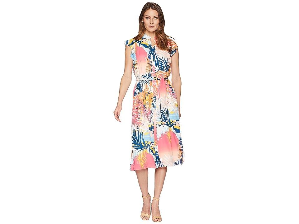 CATHERINE Catherine Malandrino Fredda Dress (Tropical Landscape) Women