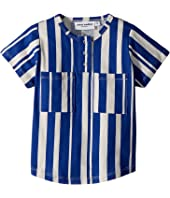 mini rodini - Odd Stripe Baseball T-Shirt (Infant/Toddler/Little Kids/Big Kids)