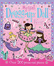 my giant dress up doll book