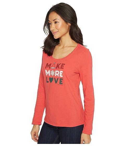 Tee Sleep Sleeve More Make is Love Good Life Long q0x8ZnW
