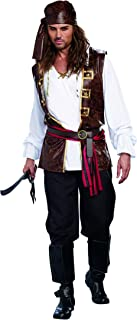 Men's Seaworthy Pillaging Pirate Captain Costume