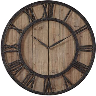 Uttermost 06344 Powell Wooden Wall Clock