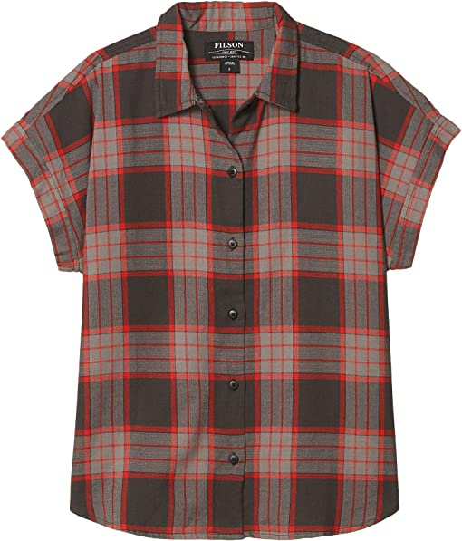 Black/Grey/Red Plaid
