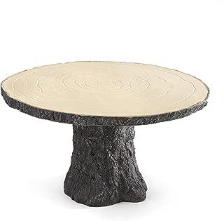 Hortense B. Hewitt Rustic Log Cake Stand Wedding Accessories