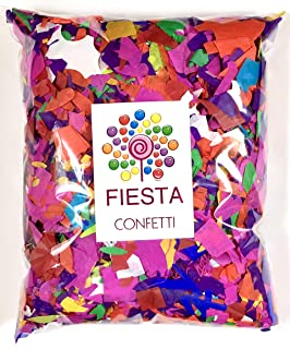 Fiesta Confetti.Value Colorful Tissue Paper Confetti. Jumbo Bag .95lb/425gr.