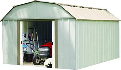 Arrow Lexington 10 ft. x 14 ft. Steel Storage Shed(10 x 14 ft.3,0 x 4,0 m)
