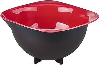 Tefal K2070414 Ingenio Bol De Préparation Design noir et rouge ustensile de cuisine sans bisphénol A