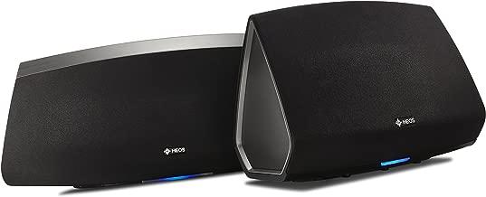 Denon HEOS 7 + 5 Wireless Multiroom Digital Music System, Black (HEOS5+7BK)