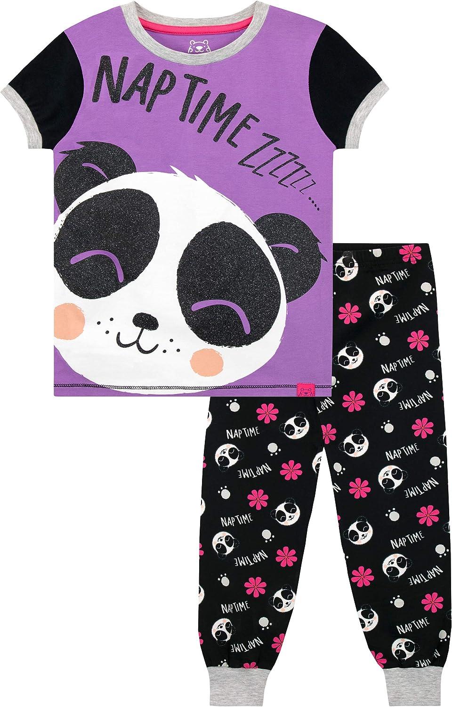 Harry Bear Girls' Panda Pajamas