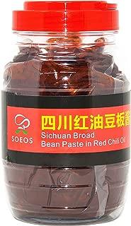 SOEOS Sichuan Pixian Boad Bean Paste, Pixian Doubanjiang Chili Paste (800g Canister)