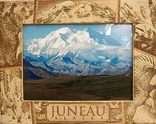Juneau Alaska Laser Engraved Wood Picture Frame (5 x 7)