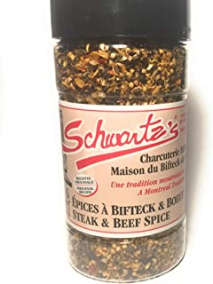 Schwartz's Deli steak and beef spice 5.6 ounces Montreal world famous steak spice