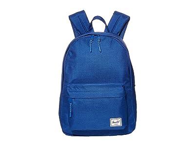 Herschel Supply Co. Classic Mid-Volume (Monaco Blue Crosshatch) Backpack Bags