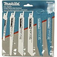 6-Pieces Makita 723086-A-A Recip Blade Assortment Pack