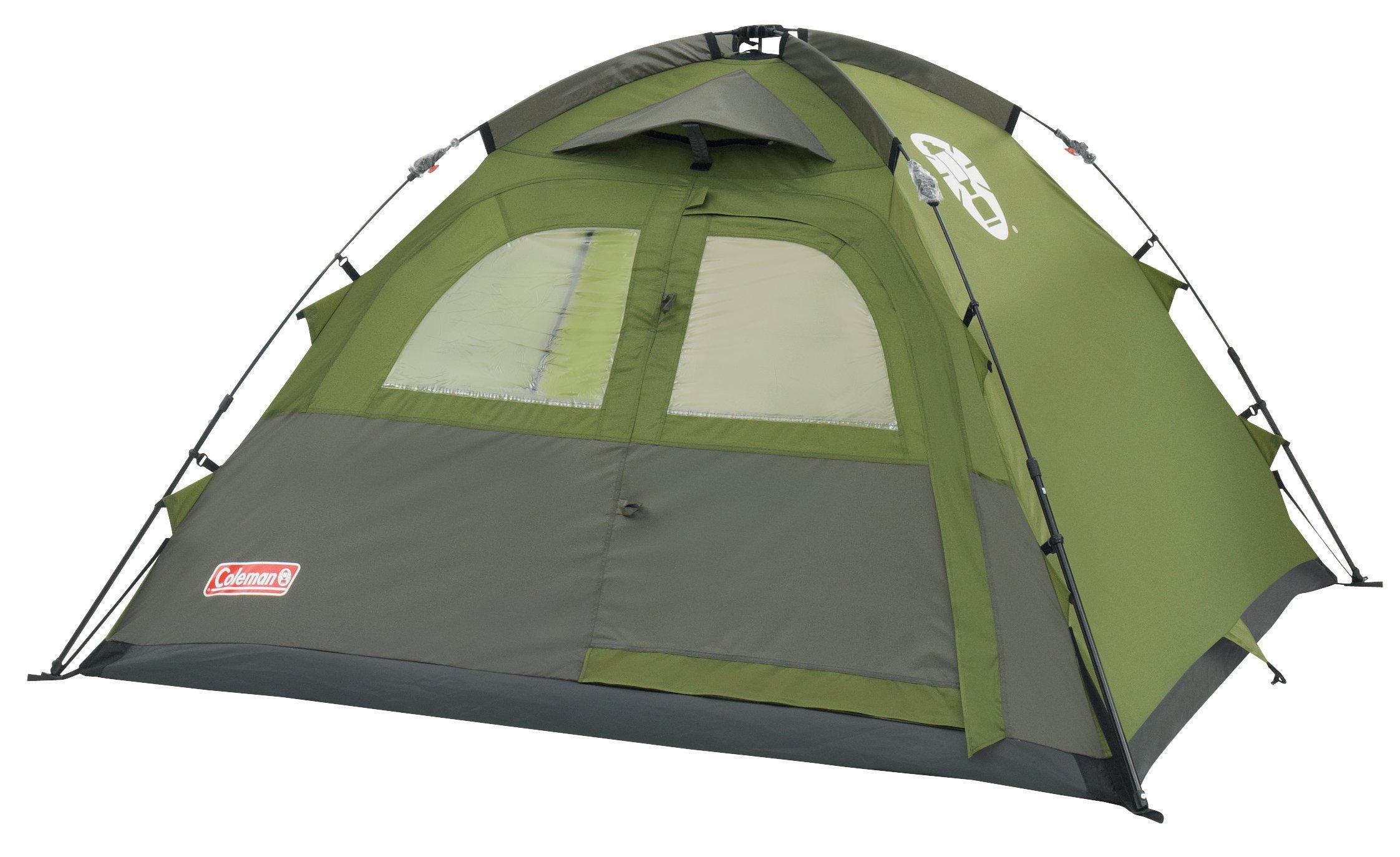 Coleman Instant Dome 3 - Tienda de campaña grün - Grau Talla:tamaño único: Amazon.es: Deportes y aire libre