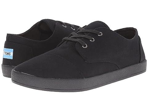 Men's/Women's Toms Classic Casual Shoe Black/White 201420152016