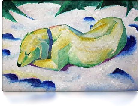 Poster oder Leinwand Bild auf Keilrahmen Tiere in der Landschaft Franz Marc