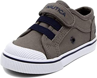 Nautica Kids Calloway Sneakers Adjustable Strap Bungee Straps Casual Shoes (Toddler/Little Kid)