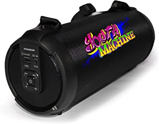 Thomson BBX01 Boombox Portable Bluetooth Speaker with 3000Mah Battery, TWS Connection and IPX5 Water Resistant - Youth Machine Edition