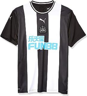 PUMA Men's Standard Newcastle United Nufc Home Shirt Replica With Sponsor Whitepuma Xxl