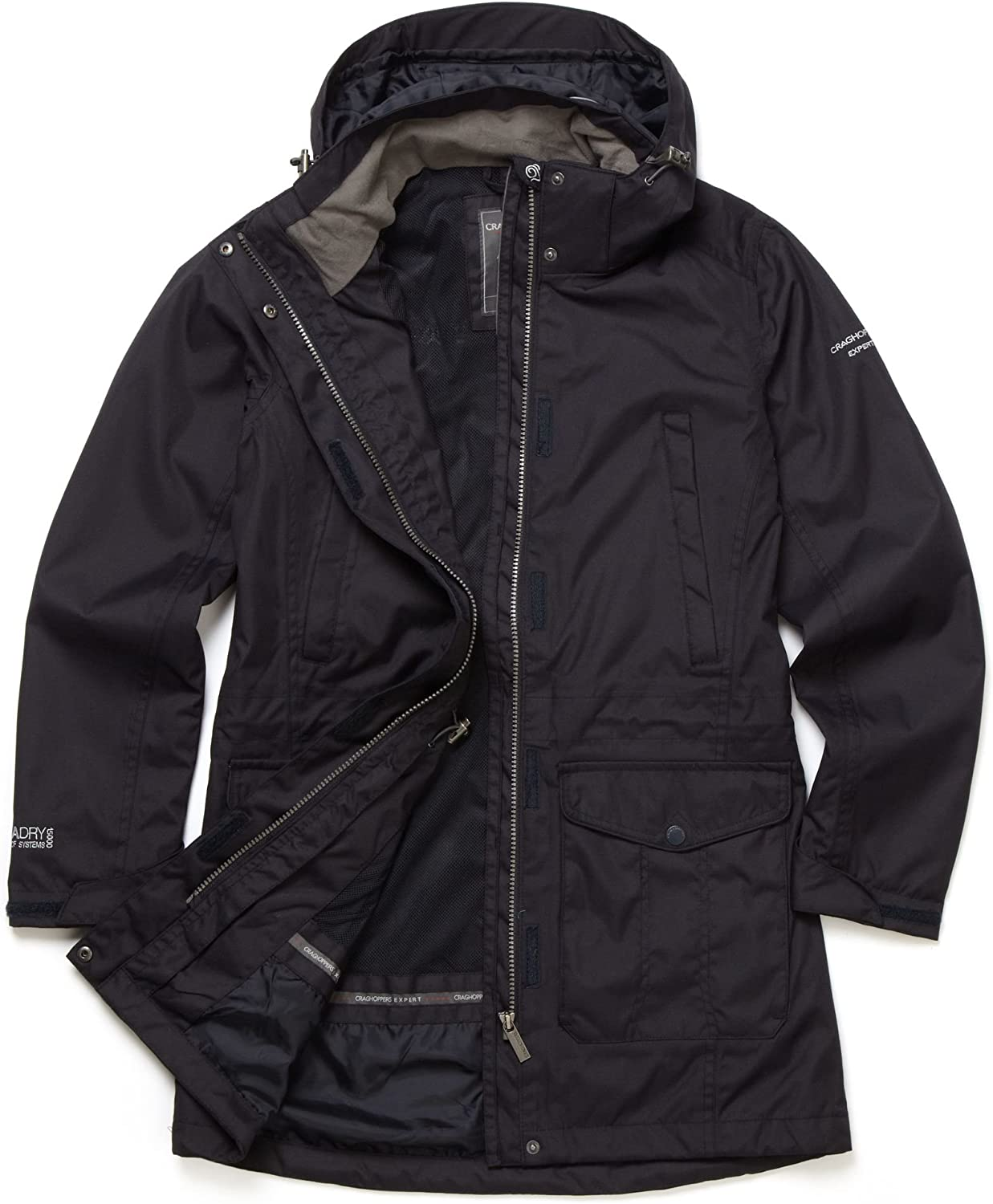 Craghoppers Womens Expert Madigan Long Jacket