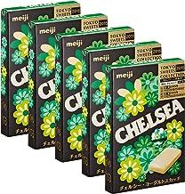 Chelsea Yogurt Scutch 1.6oz 5pcs Japanese Candy Meiji Ninjapo