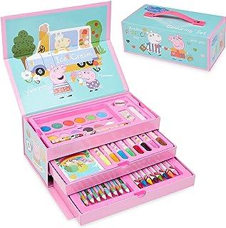 Peppa Pig Peppa Pig Kleurpotloden voor kinderen, voor meisjes, schilderset voor kinderen