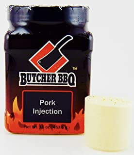 Butcher BBQ Original Pork Injection Marinade | giving Natural Flavor to Your Pork | 1 Pound
