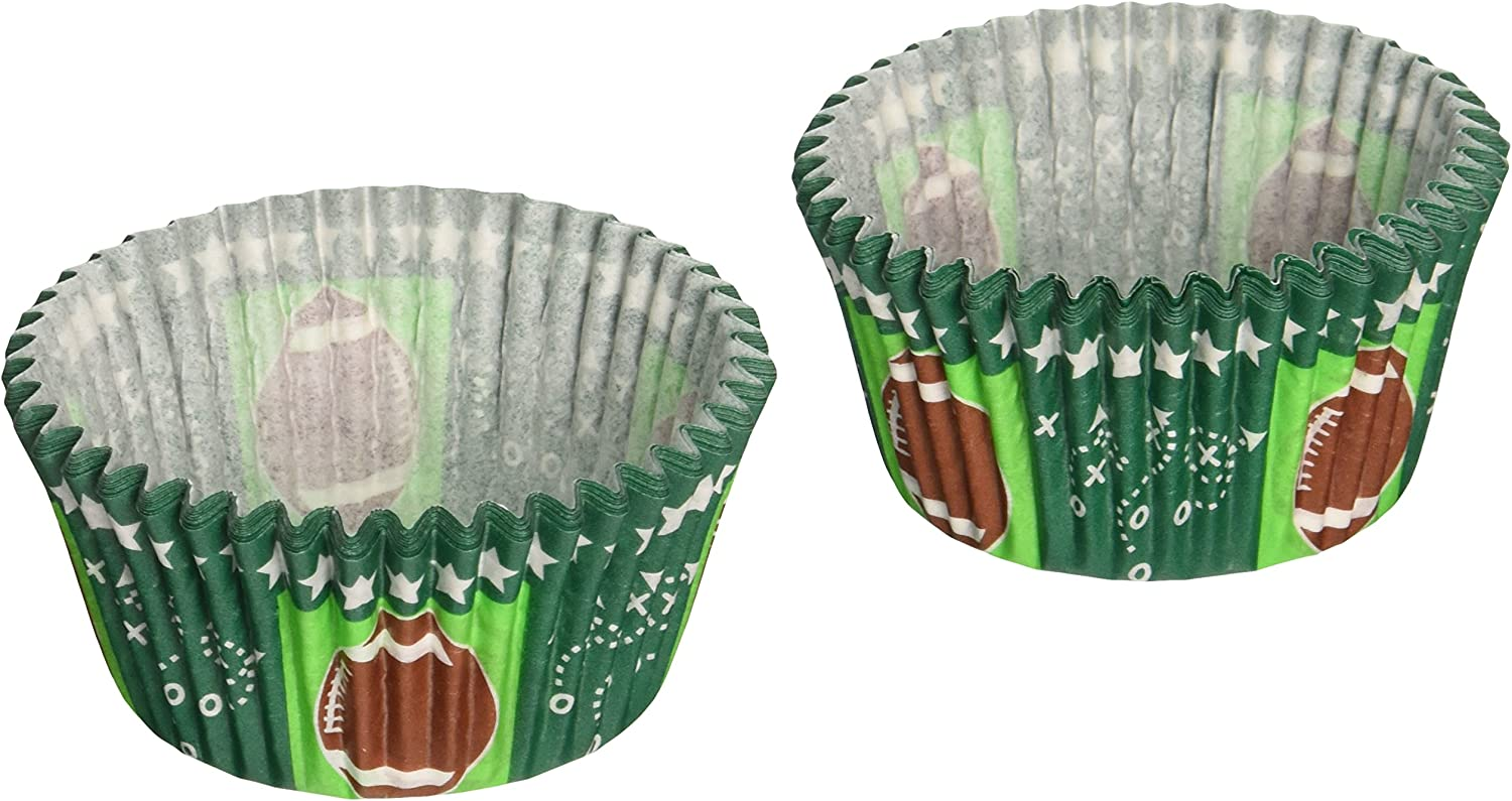 CupcakeCreations BKCUP-8978 Standard Fashionable Cash special price Cupcake Footbal Cup Baking