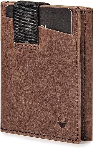 DONBOLSO® Wallety 2 I Portefeuille Slim Wallet avec Compartiment à Monnaie I Portefeuille avec Protection RFID I jusq...