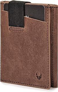 DONBOLSO® Wallety 2 I Portafoglio sottile con scomparto per le monete | Portafoglio con protezione RFID I Fino a 12 carte ...