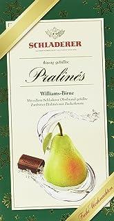 Schladerer Pralinés Williamsbirne mit Weihnachts-Aufleger, 2er Pack 2 x 127 g