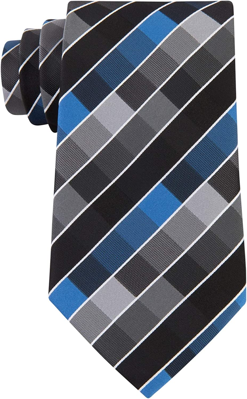 Geoffrey Beene Mens New Rafalla Self-tied Necktie, Black, One Size