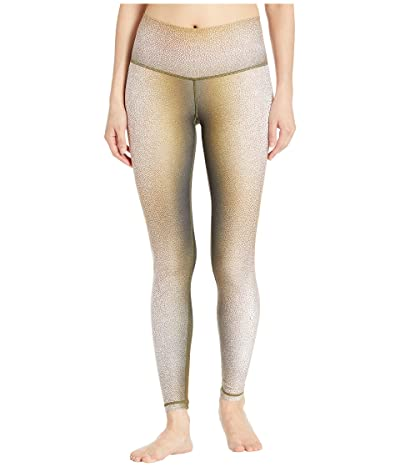 Niyama Sol Shagreen Leggings (Chartreuse) Women