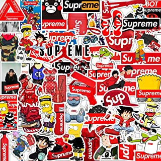 Personality Popular Brand Stickers Laptop Stickers Waterproof Skateboard Snowboard Car Bicycle Luggage Decal 50pcs Pack (Personality Popular Brand)