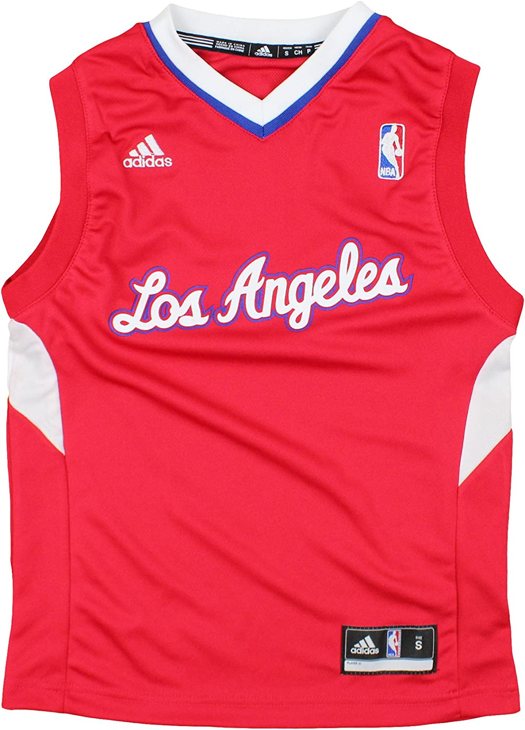 adidas Max 66% OFF Los Angeles Now free shipping Clippers NBA Youth Logo 8-20 Big Boys Team