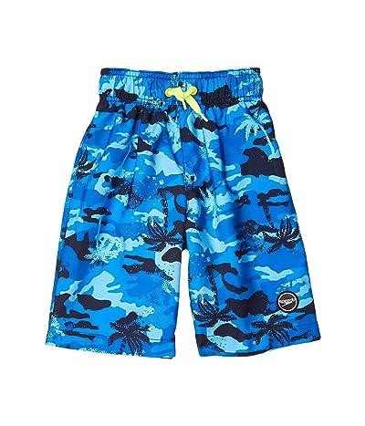 Speedo Kids Palm Beaches Redondo Volley Shorts (Little Kids/Big Kids) (Blue Lemonade) Boy