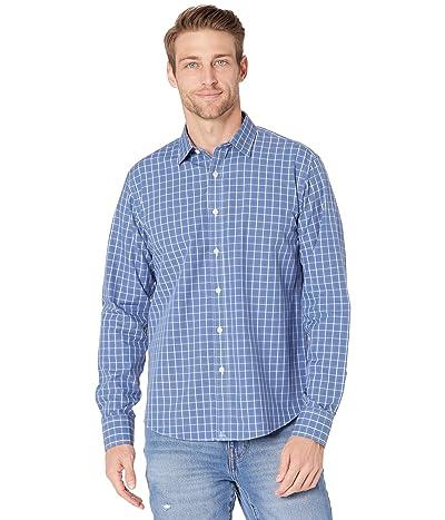 UNTUCKit Wrinkle Free Overstone Shirt (Blue) Men