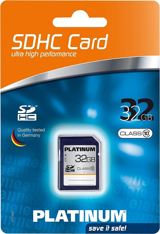 Platinum 32 Gb Class 10 Sdhc Speicherkarte 177118 Computer Zubehör