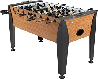 "Atomic Pro Force 56"" Foosball Table with Internal Ball Return and Ball Entry, Leg Levelers, and Heavy-Duty Legs"