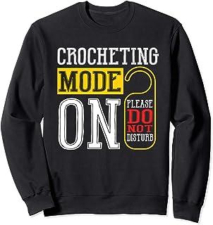 Mode De Crochet Sur Le Crochet Drôle De Tricot À Coudre Sweatshirt