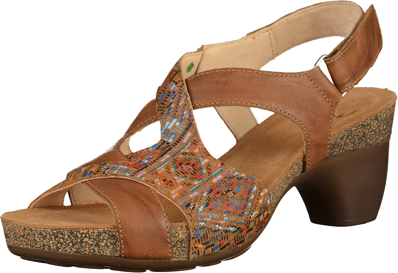Think Women Sandals brown, (LION KOMBI) 2-82574-55