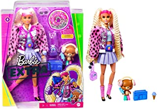 Barbie   Extra Doll - Blonde Pigtails, Multi-color, GYJ77