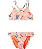 Roxy Kids - Sandy Break Athletic Set (Toddler/Little Kids)