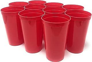 18 oz plastic cups