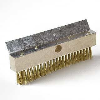 Cepillo de cerda para horno de 27x6 lat/ón cm /â /€ con mango de aluminio 16 ...
