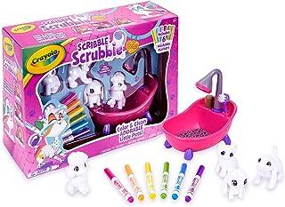 Crayola Scribble Scrubbie Pets Scrub Tub Animal Toy Set,...