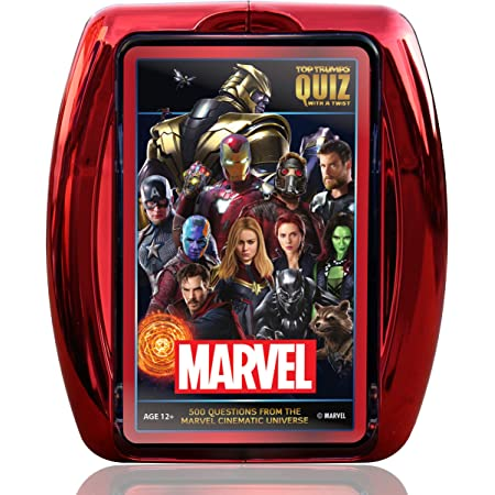 Top Trumps Marvel Cinematic Universe Quiz Game